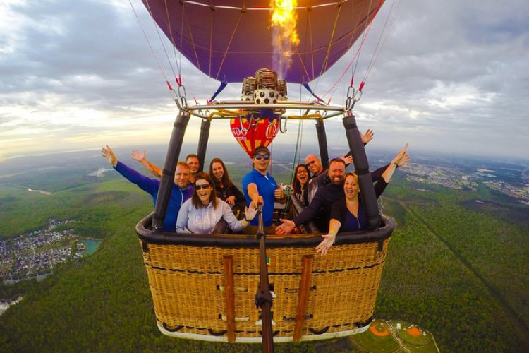 Sunrise Hot-Air Balloon Ride