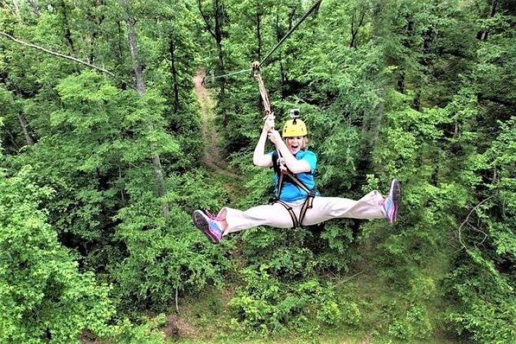 Zipline Forest Admission at Fontanel in Nashville