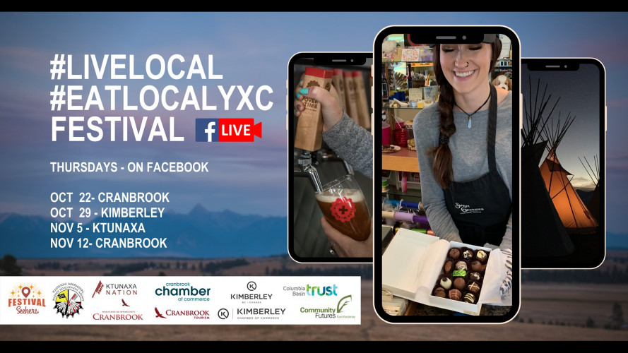 #LiveLocal #EatLocalYXC Festival - Cranbrook