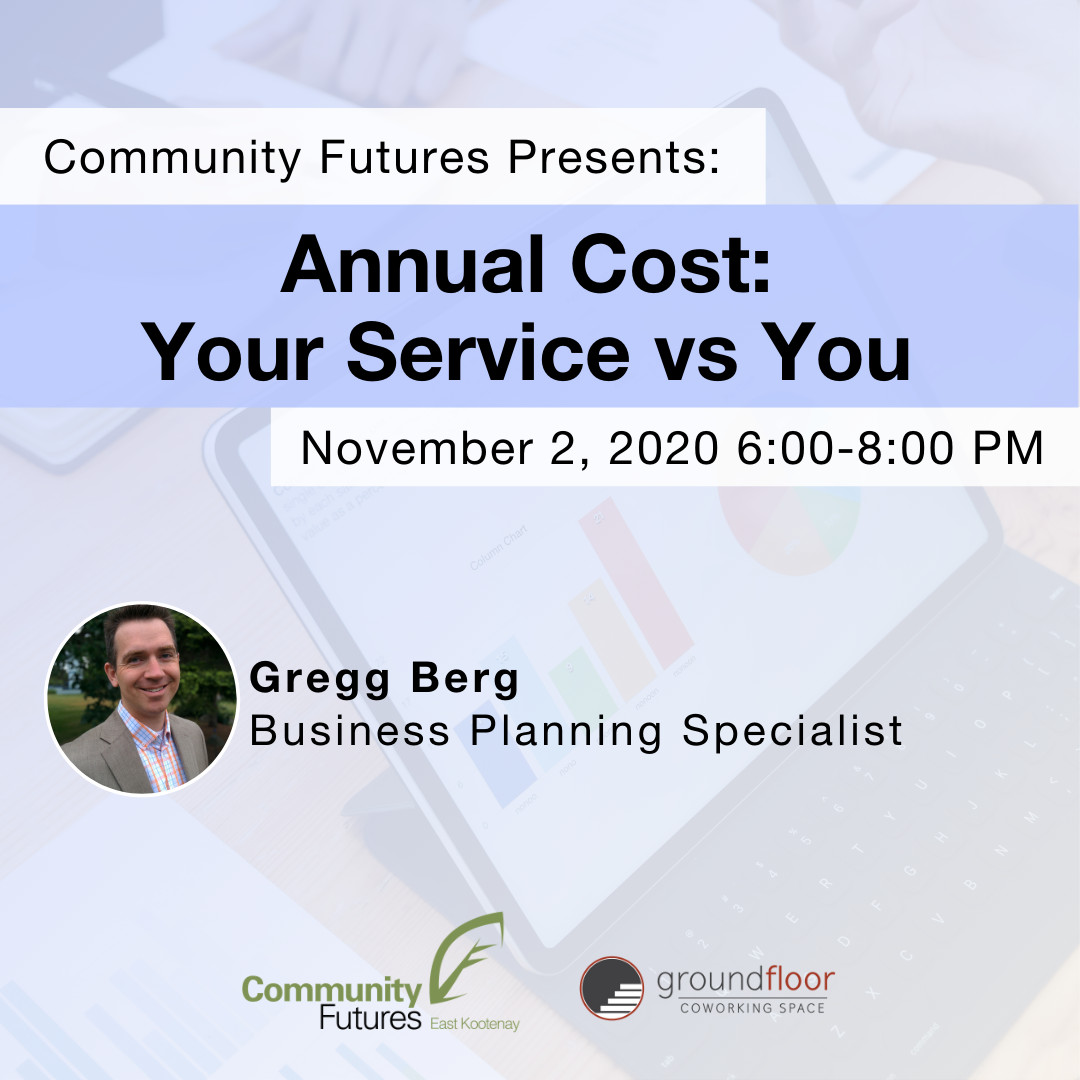 Business Planning - Annual Cost: Your Service vs You