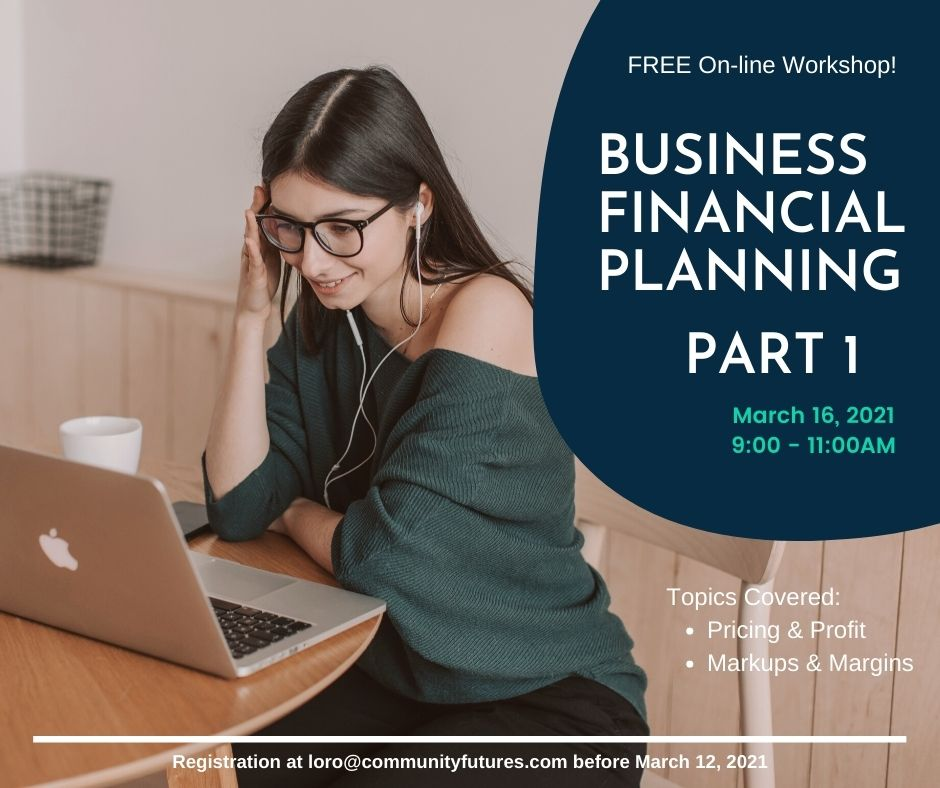 FREE! On-Line Workshop - Business Financial Planning - Part 1