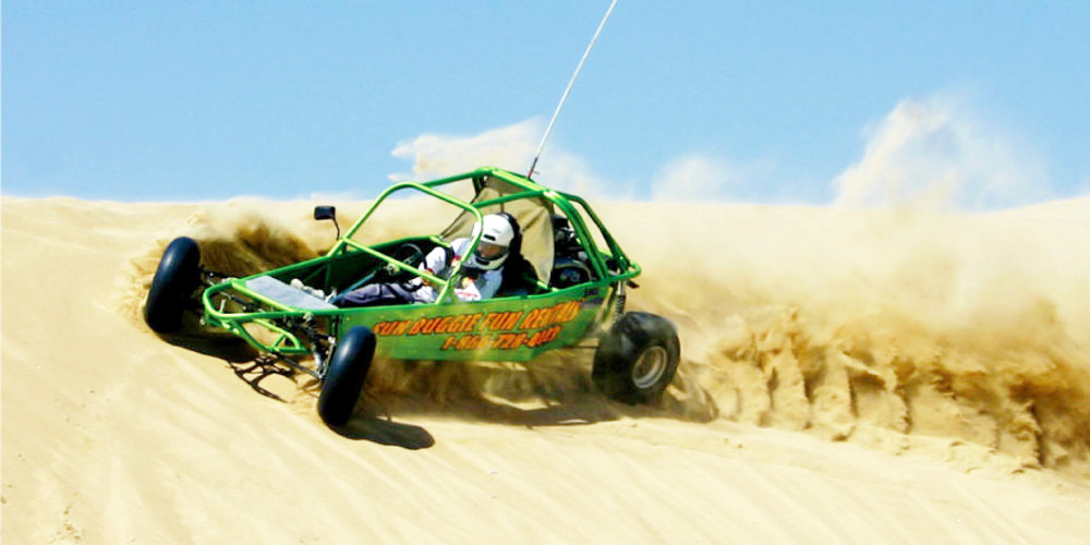 60% Off Sale | Vegas Mini Baja Chase - Spend the day on a custom-built mini Baja dune buggy racing over the Nellis Dunes. This trip is ideal for those who crave speed, excitement and a whole lot of adrenaline.