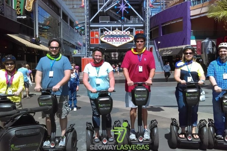40% Off Sale | Segway Las Vegas - Glide with futuristic ease as you tour downtown Las Vegas in the open-air on a Segway PT.