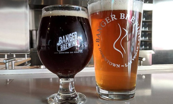 Banger Brewing Sampling