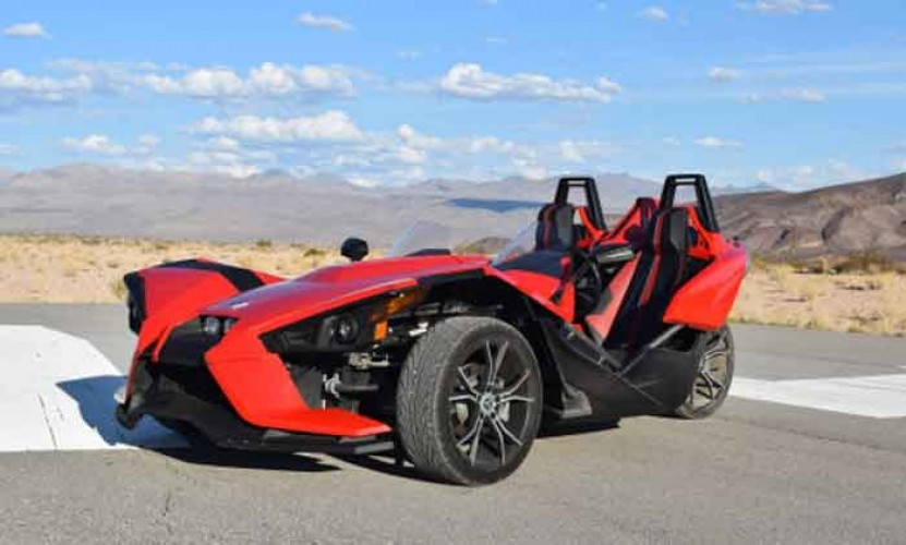 38% Off Sale | Rent A Slingshot, 3-wheeled-vehicle rental, driving which does not require any special license, nor a helmet.