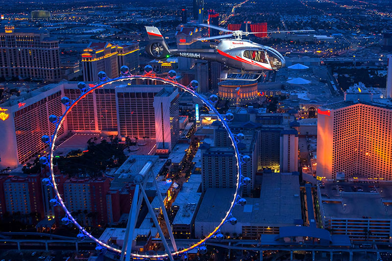 Vegas Nights Helicopter Tour | 22% Off Tickets