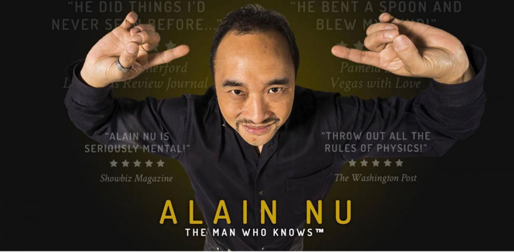 Alain Nu - The Man Who Knows | 12% Off Tickets