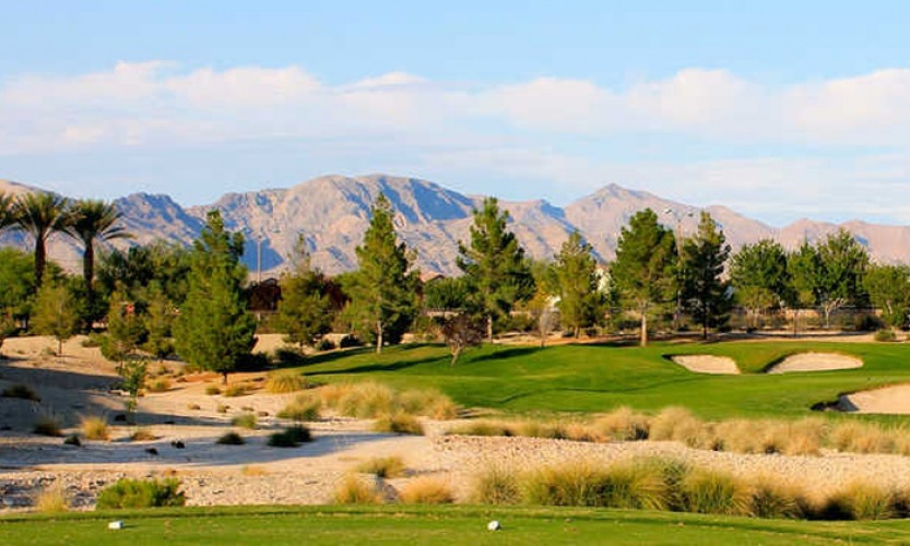 57% Off Sale | 18 Holes at Aliante Golf Club - The course is highlighted by numerous water features, generous landing areas, and strategic use of trees that are not commonly found in most desert courses.
