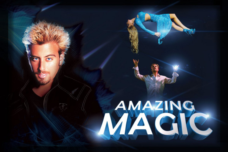 Amazing Magic with Tommy Wind | 12% Off Tickets