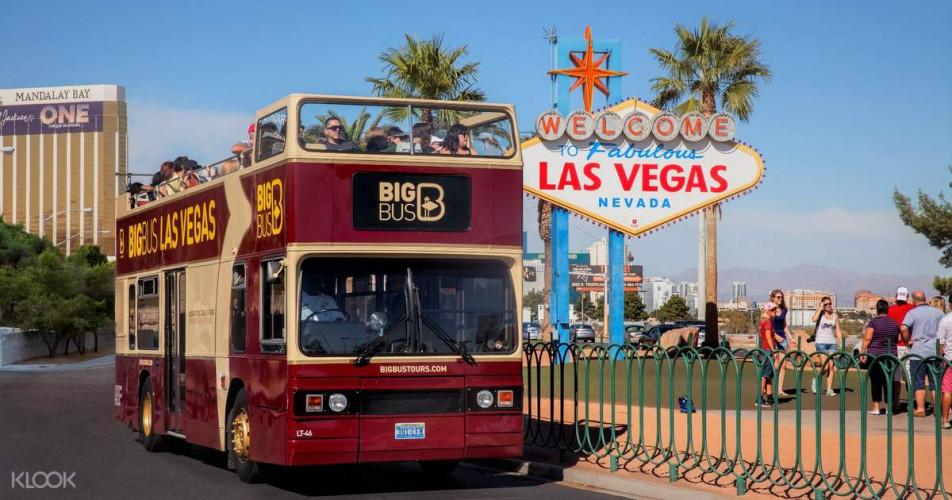 Strip & Downtown Hop-On, Hop-Off Big Bus Tour | 20% Off Tickets