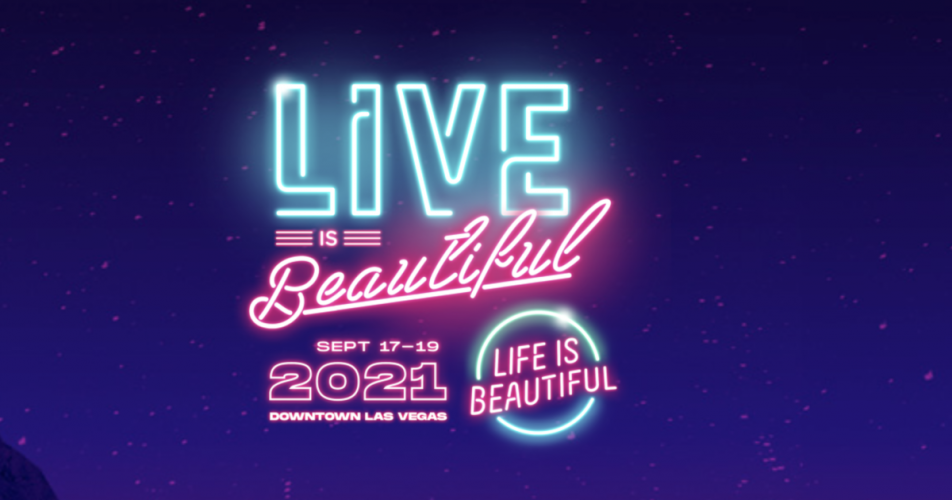 Life Is Beautiful Music & Art Festival 2021