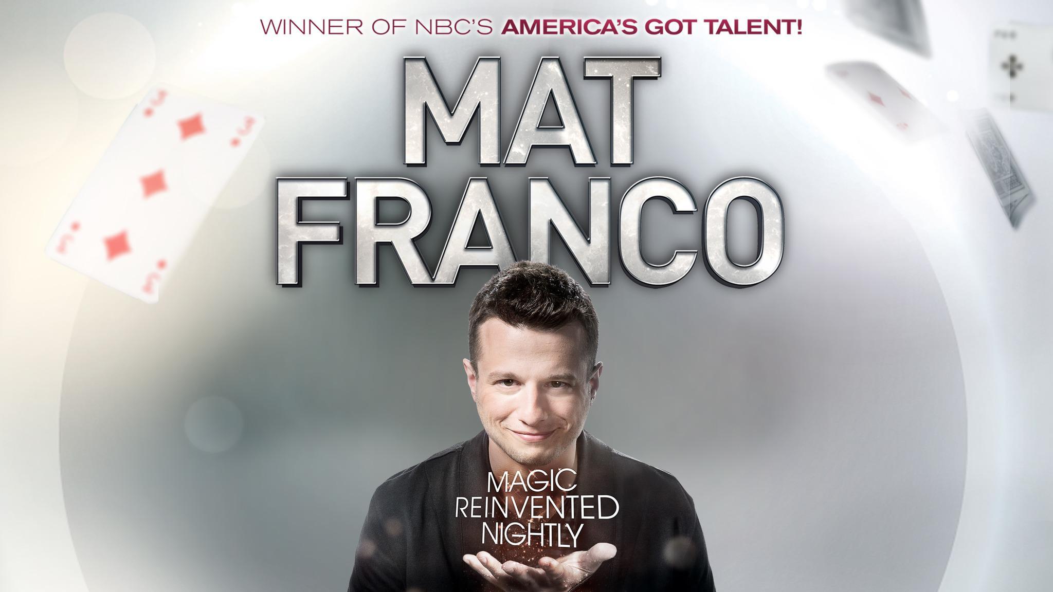 Mat Franco- Magic Reinvented Nightly