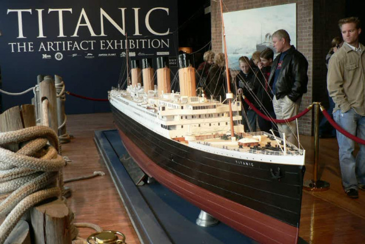 29% Off Sale | Titanic: the Artifact Exhibition - Featuring more than 250 authentic artifacts, as well as breathtaking replicas from the famous ship.