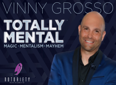 Totally Mental Show starring Vinny Grossoo