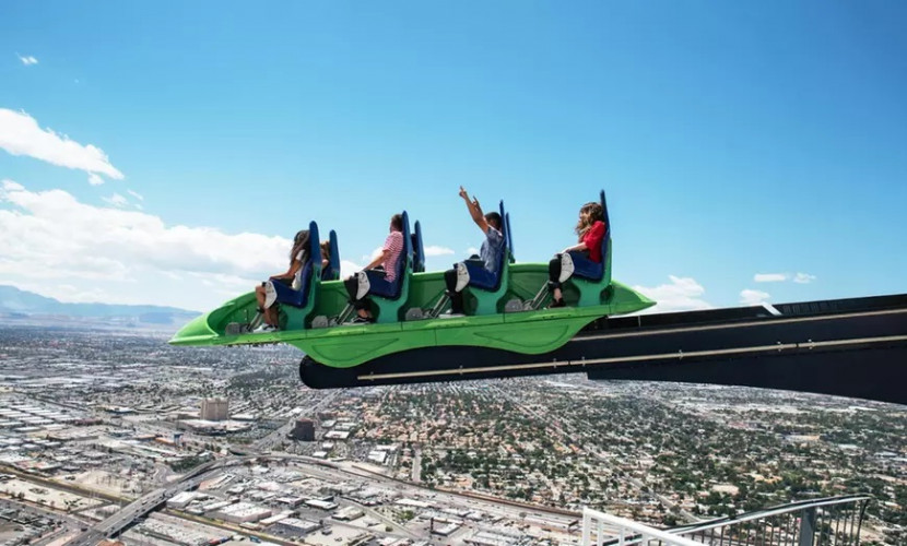 Unlimited Thrill Ride Wristband + SkyPod Admission | 44% Off Tickets