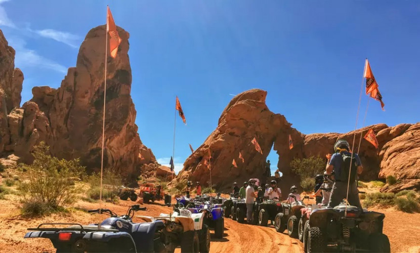 Valley Of Fire VIP Off Road ATV Tour | 33% Ticket Discount