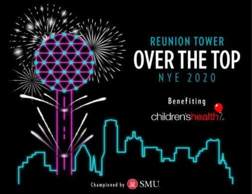 Reunion Tower Over the Top NYE Celebration