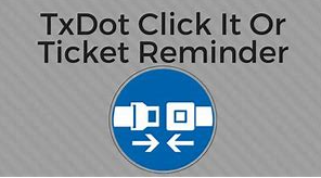 "TxDot ""Click It or Ticket"" Press Display"