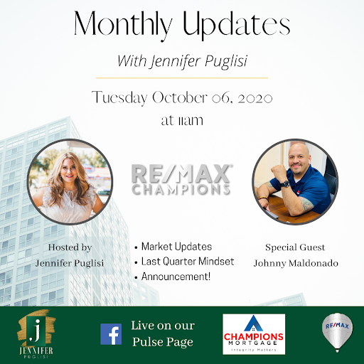 Monthly Update with Jennifer Puglisi & Special Guest!