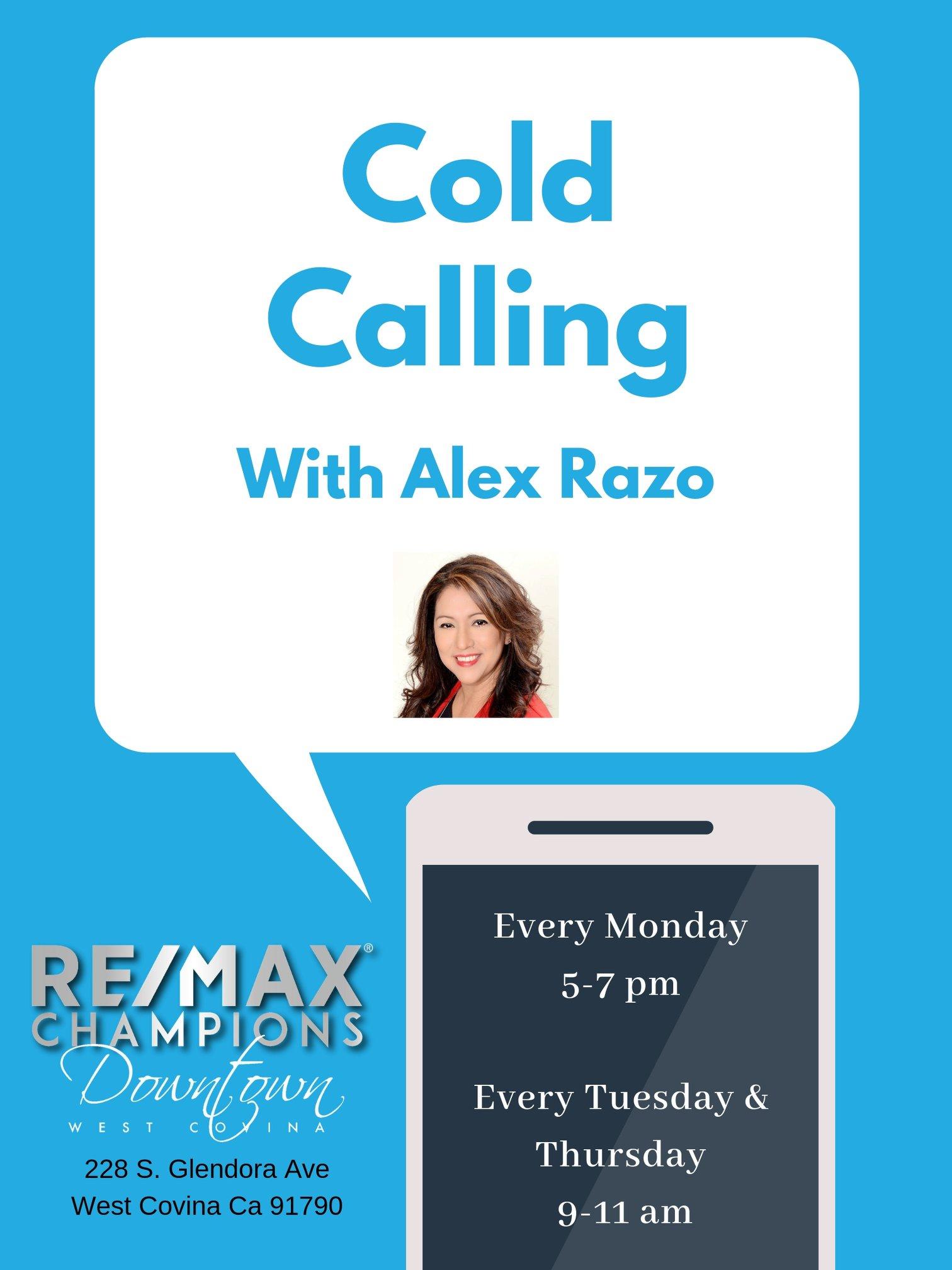 Cold Calling with Alex Razo