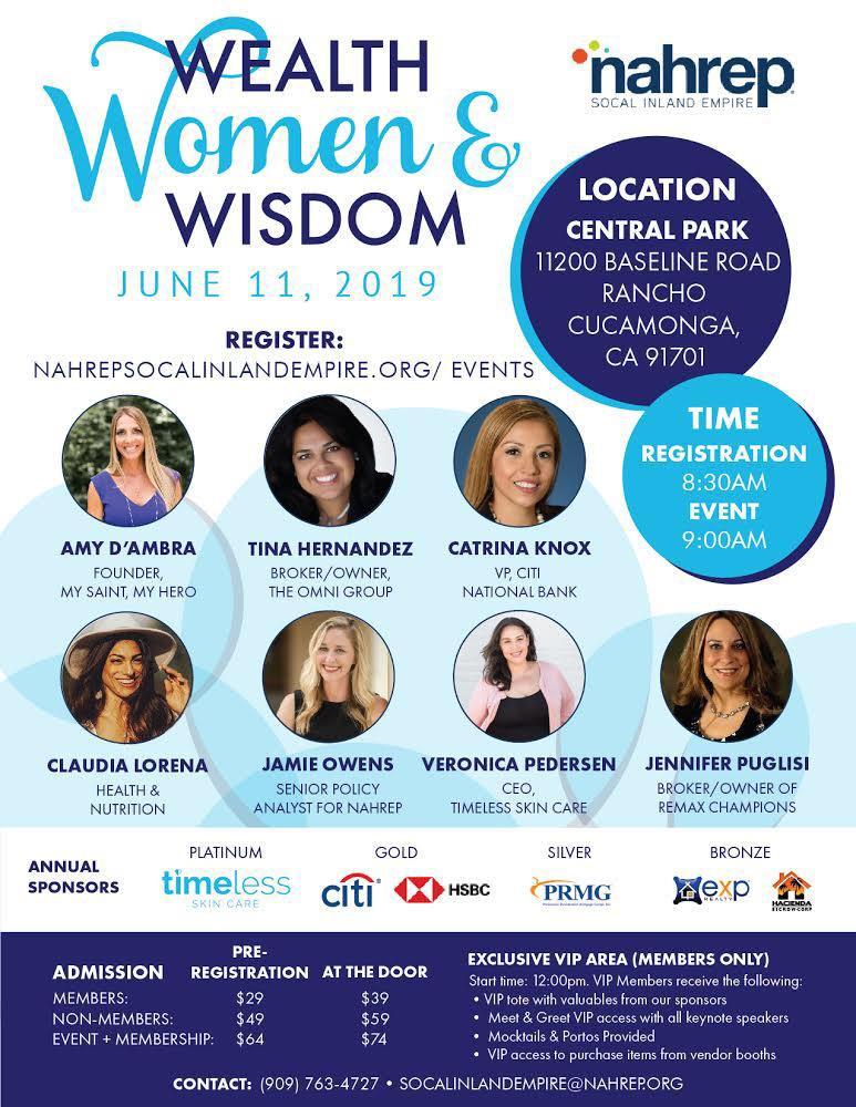 Wealth, Women & Wisdom w/Jennifer Puglisi & more