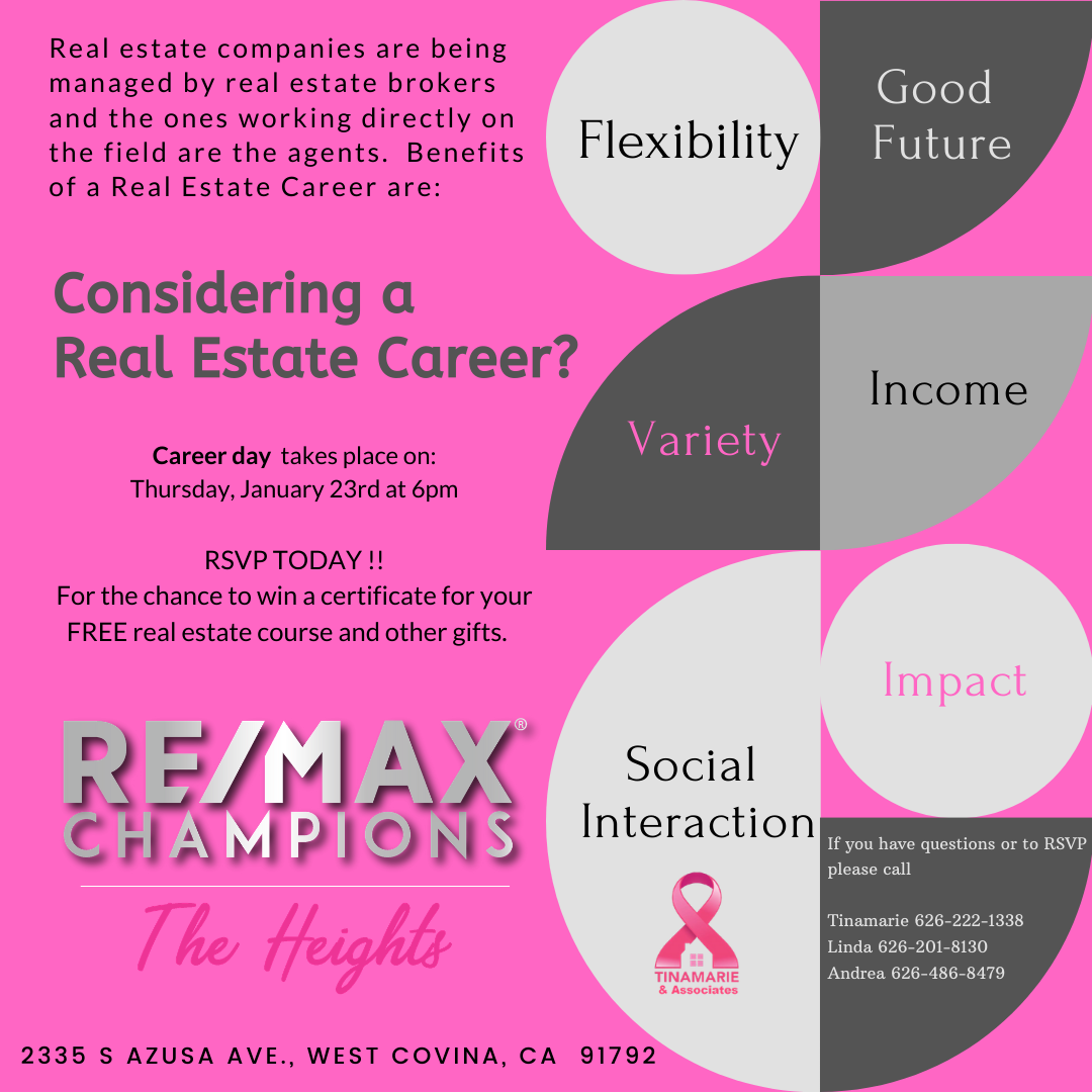 Career Day (Joining Real Estate)