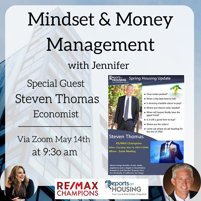 Mindset & Money Management with Jennifer & Economist Steven Thomas