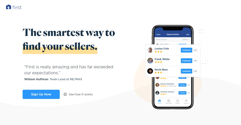 RE/MAX Tech:  First.io App