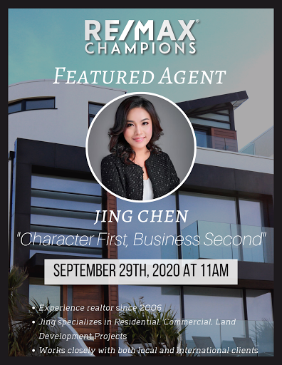 RE/MAX Champions Featured Agent: Jing Chen
