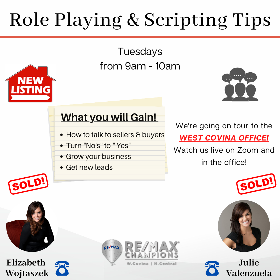 Role Playing & Scripting Tips with Liz and Julie
