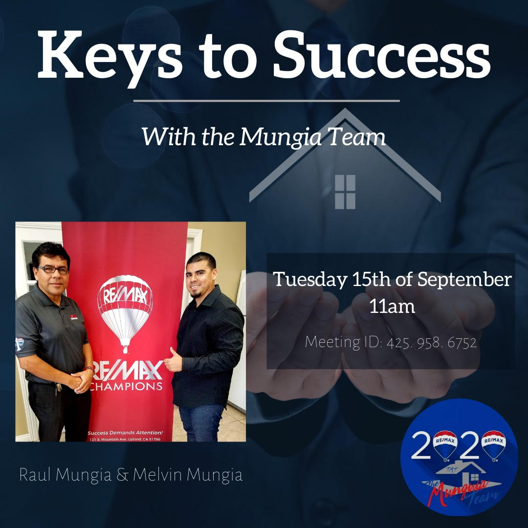Keys to Success with The Munguia Team