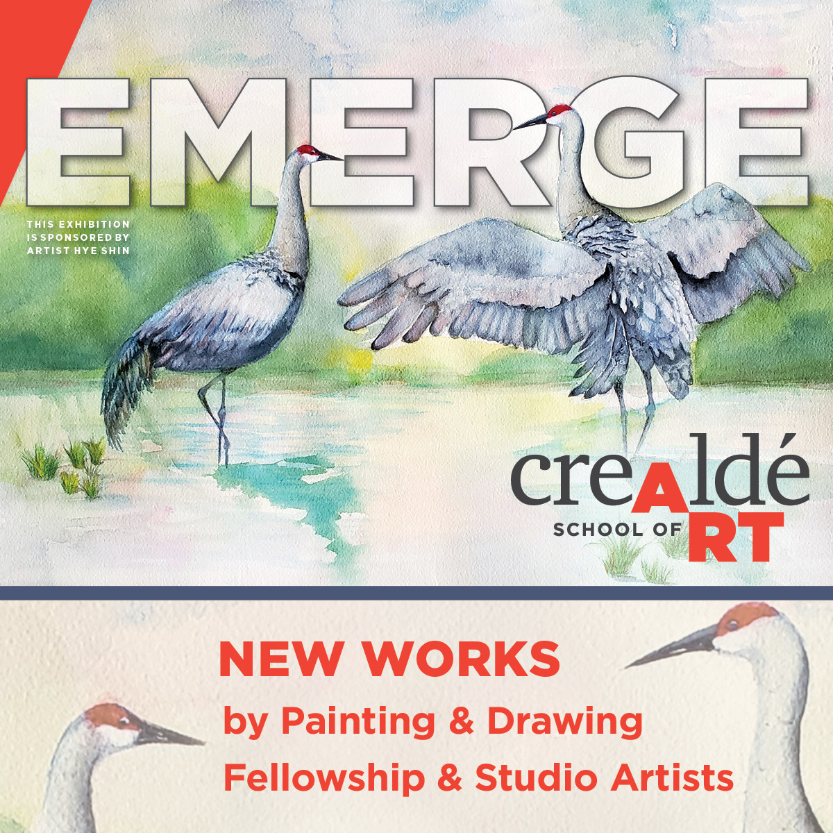 Emerge: New Works By Painting And Drawing Fellowship And Studio Artists