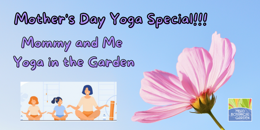 Mother's Day Mommy and Me Yoga in the Garden!