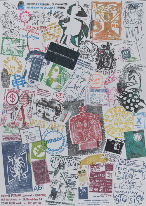 (Exhibition) Pushing the Envelope: Mail Art from the Archives of American Art