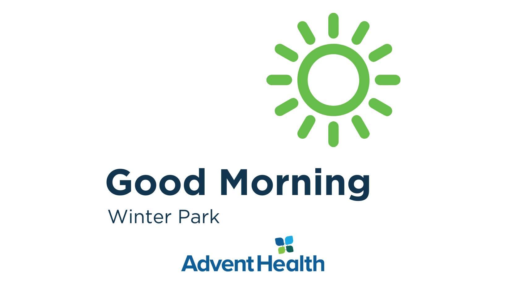 good morning winter park decorative graphic