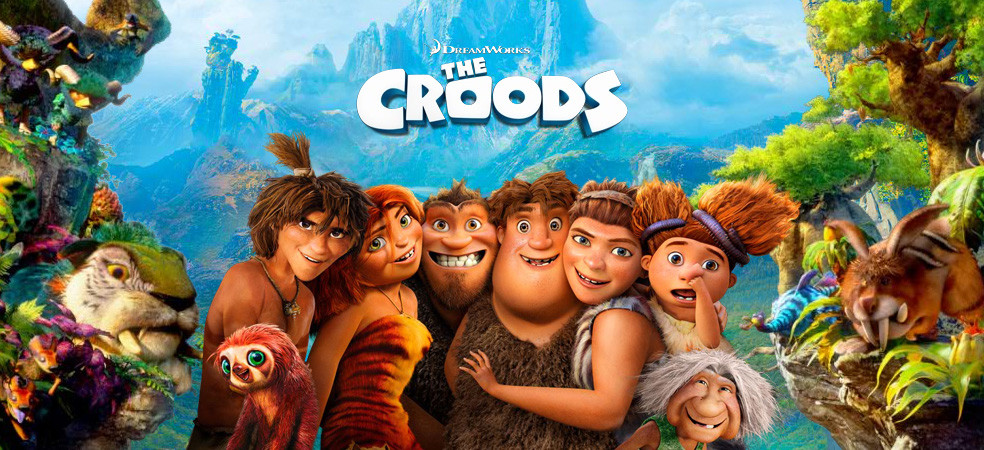 Family Film Screening: CROODS 1 & 2 DOUBLE FEATURE
