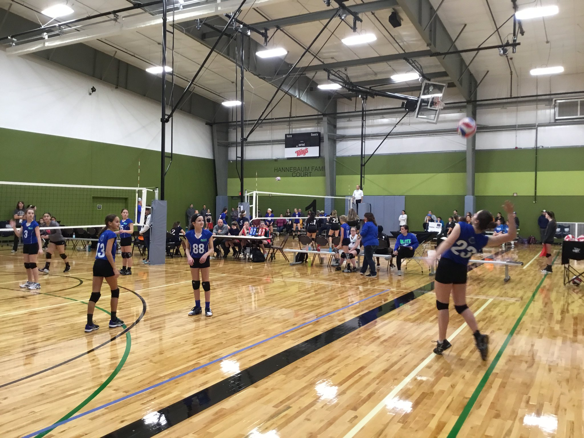 HOA Volleyball March Madness Tournament