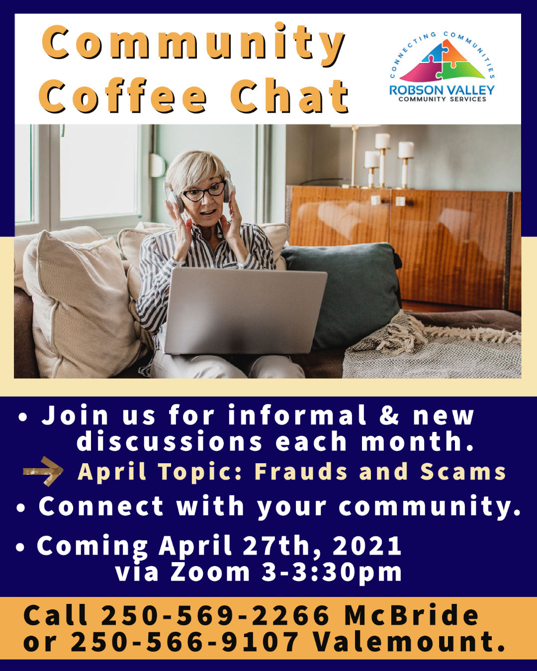 Community Coffee Chat: Frauds & Scams