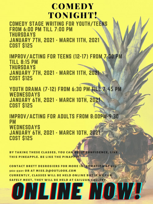 Improv/Acting for Adults
