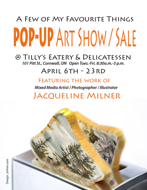 A Few Of My Favourite Things Pop-up Show/Sale