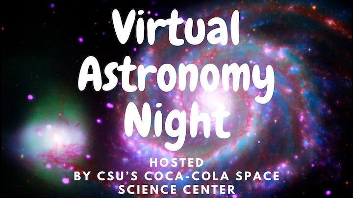 Virtual Astronomy Night