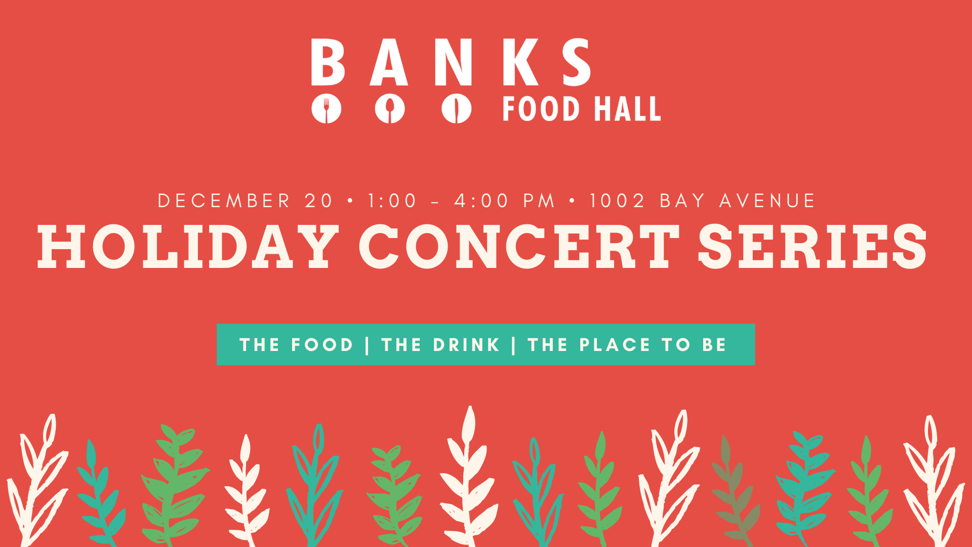 BANKS Holiday Concert Series   FINALE