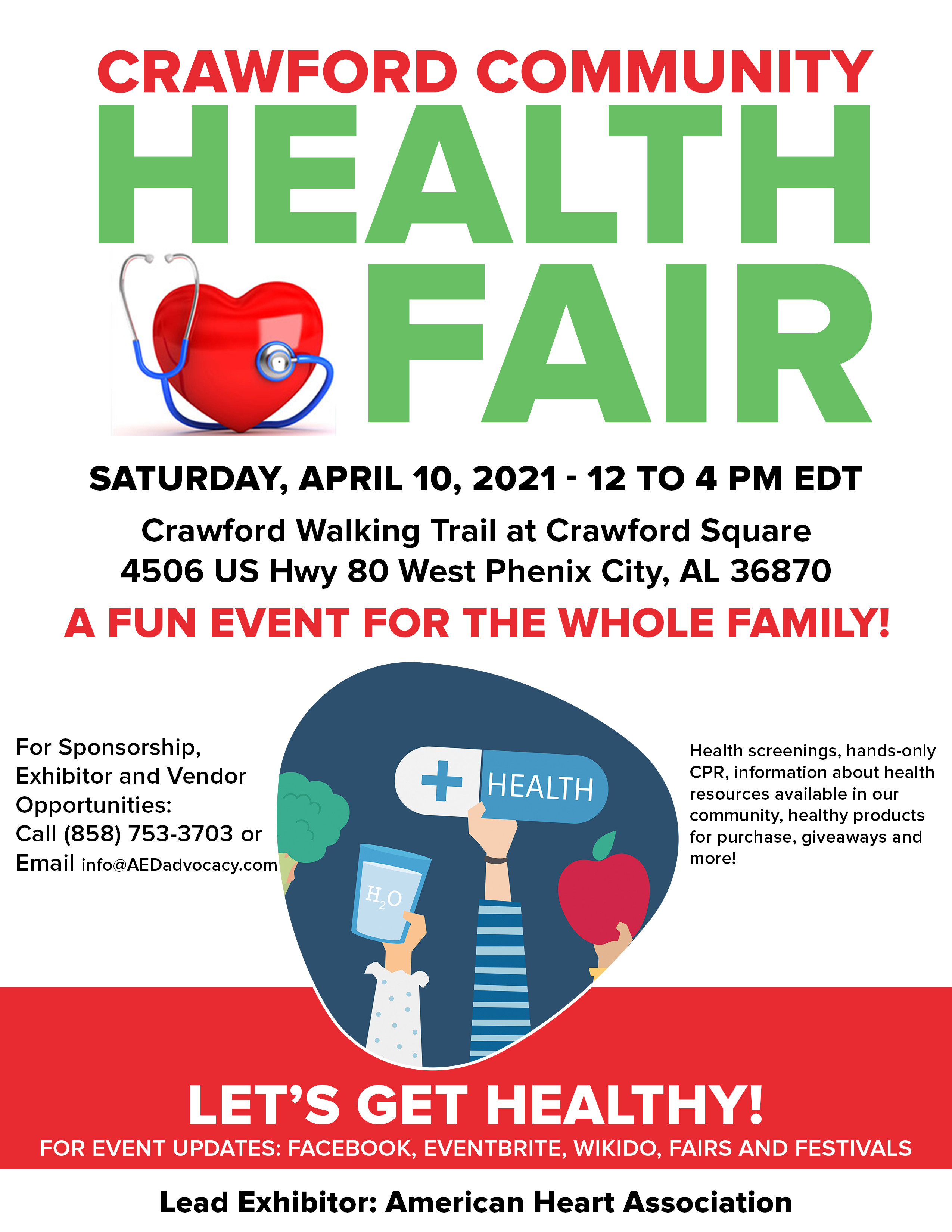 Crawford Community Health & Wellness Fair