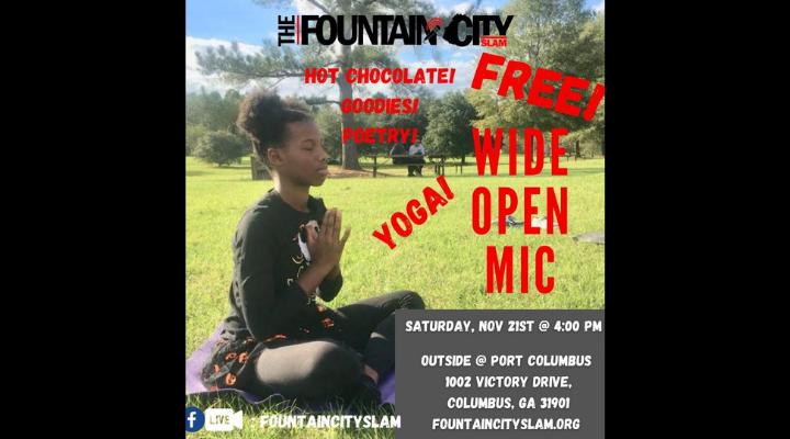 Free Teen Open Mic & Yoga!