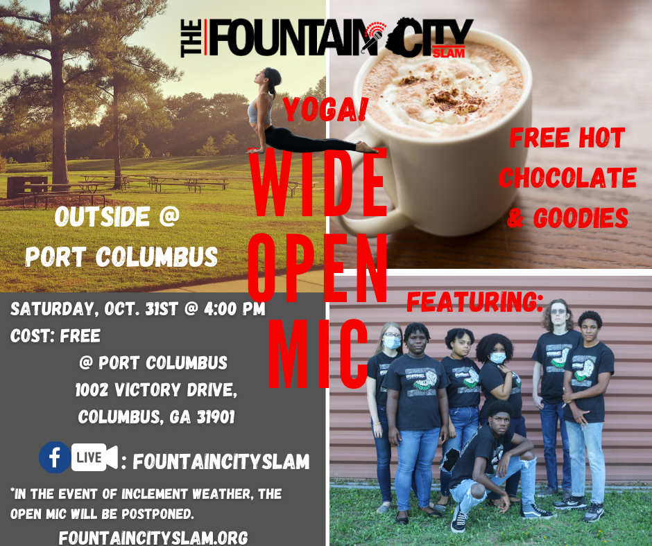 Youth Wide Open Poetry Mic