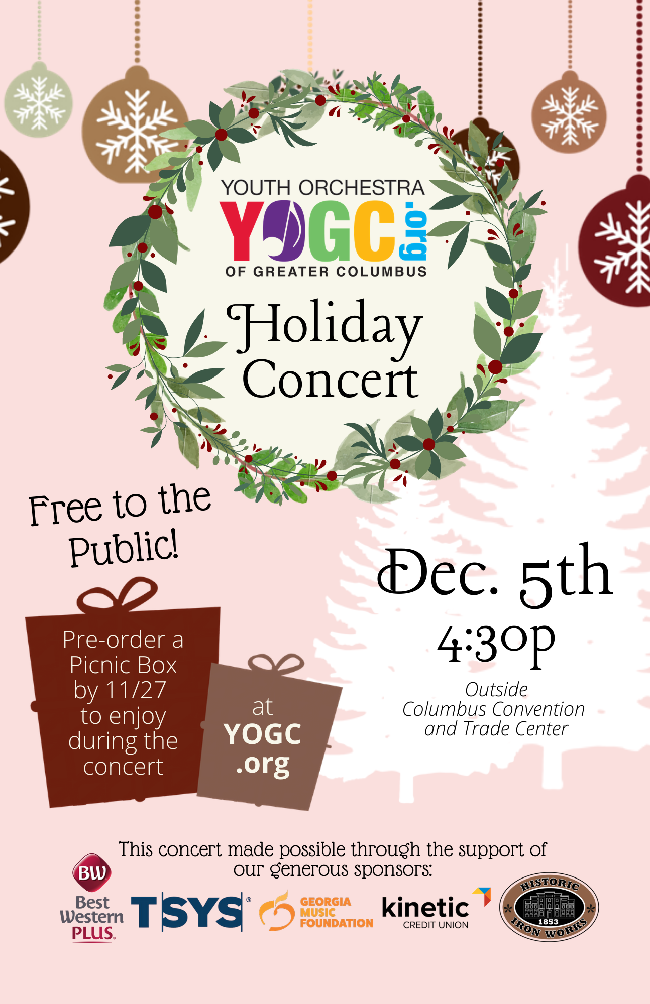 Youth Orchestra of Greater Columbus Holiday Concert