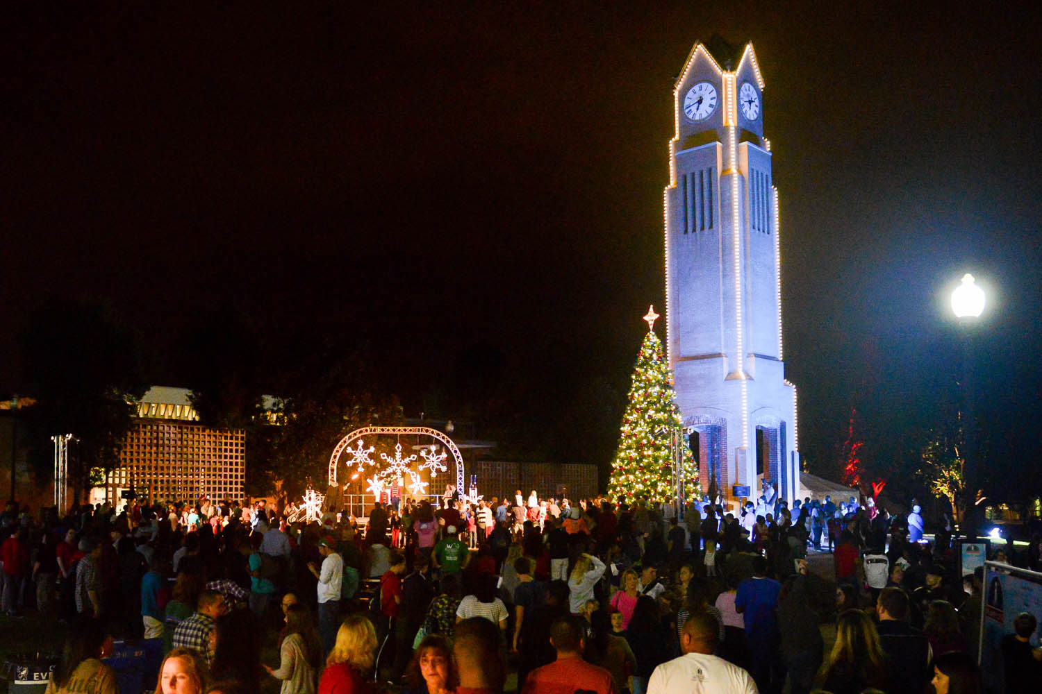 WinterFest Virtual Campus-Lighting Ceremony