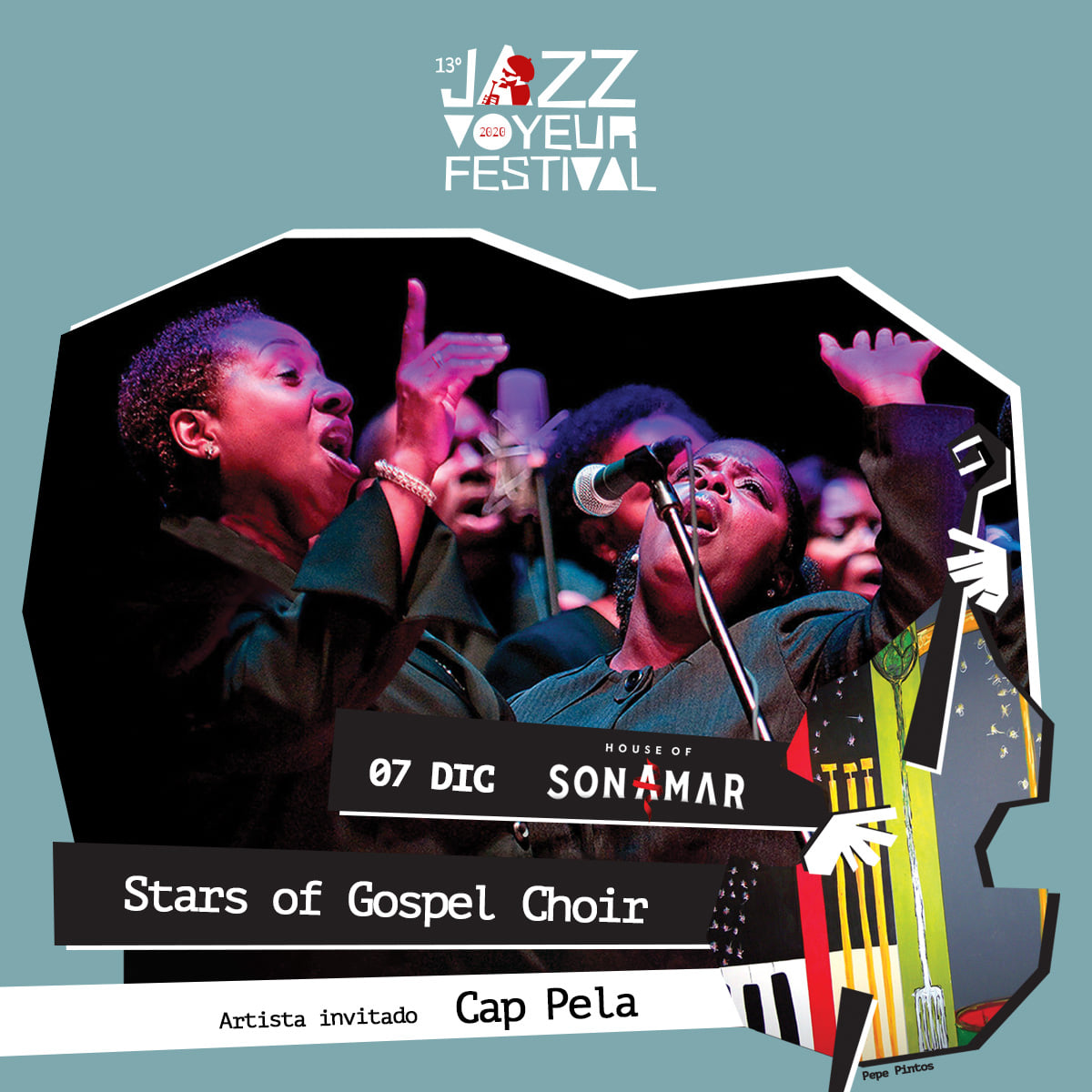 STARS OF GOSPEL at SON AMAR @ Son Amar, Carretera Palma