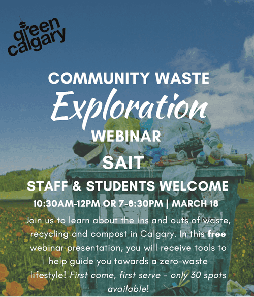 Community Waste Exploration with Green Calgary