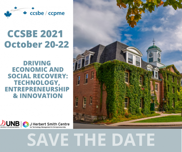 Canadian Council for Small Business and Entrepreneurship Conference